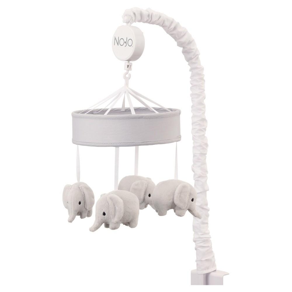 Image of NoJo Mobile - Elephant Dream, Gray