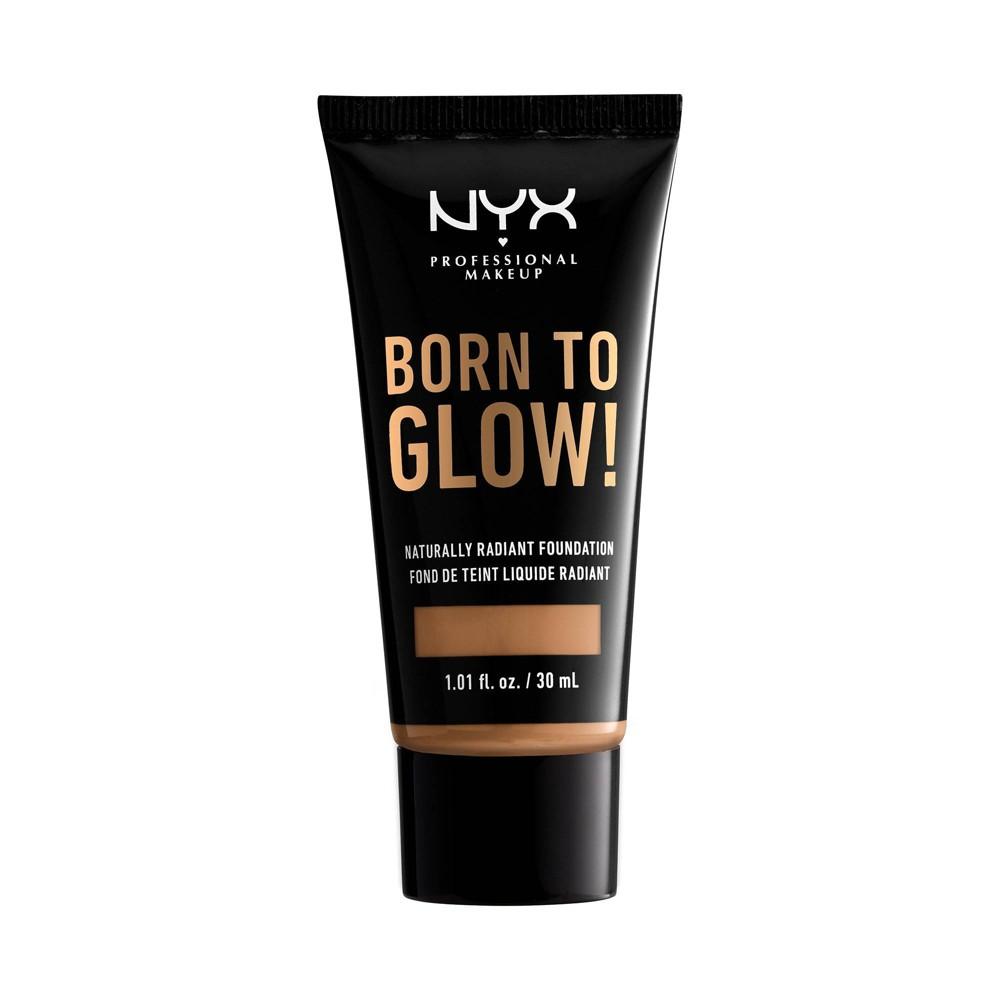 Nyx Professional Makeup Born To Glow Radiant Foundation 15 5 Cinnamon 1 01 Fl Oz