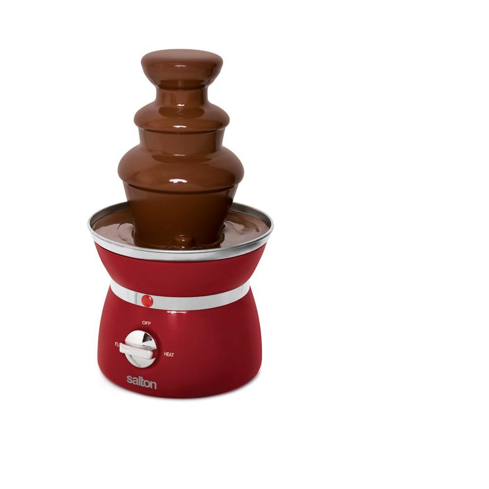 Salton Mini 3-Tier Chocolate Fondue Fountain – Black 53623350