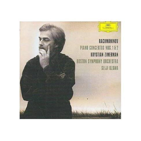 Rachmaninov - Rachmaninov: Piano Concertos 1, 2 (CD) - image 1 of 1