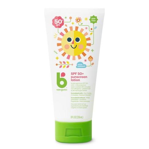 Babyganics Sunscreen Lotion Broad Spectrum Protection - SPF 50 - 8 fl oz - image 1 of 2
