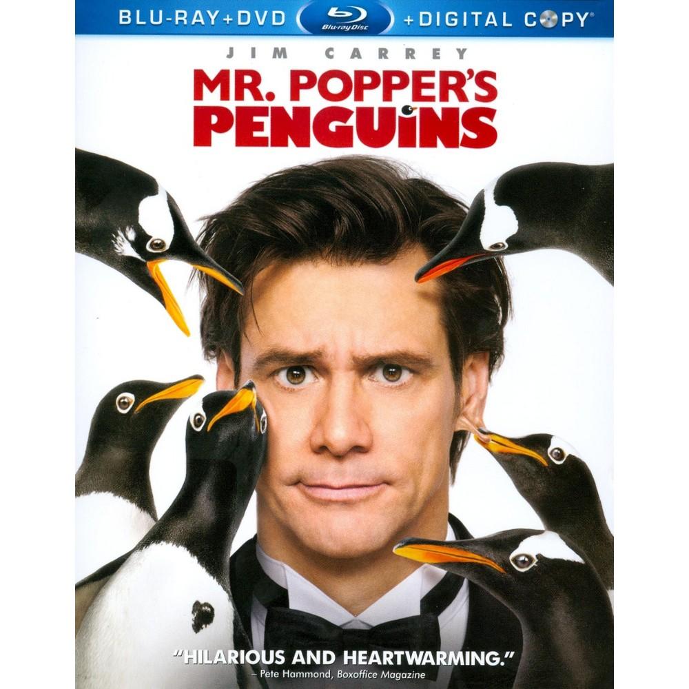 Mr. Popper's Penguins (3 Discs) (Includes Digital Copy) (Blu-ray/Dvd)