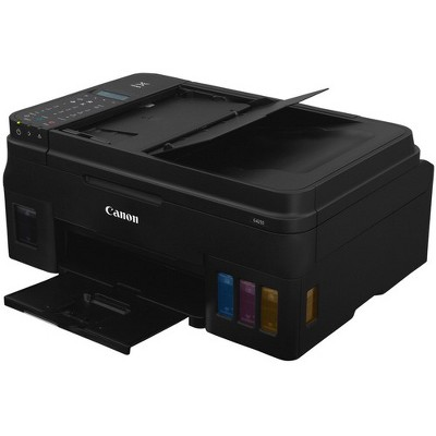 Canon PIXMA G4210 Inkjet Multifunction Printer - Color - Copier/Fax/Printer/Scanner - 4800 x 1200 dpi Print - 600 dpi Optical Scan - Wireless LAN
