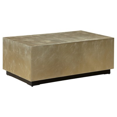 Zoe Coffee Table Gold Christopher Knight Home Target