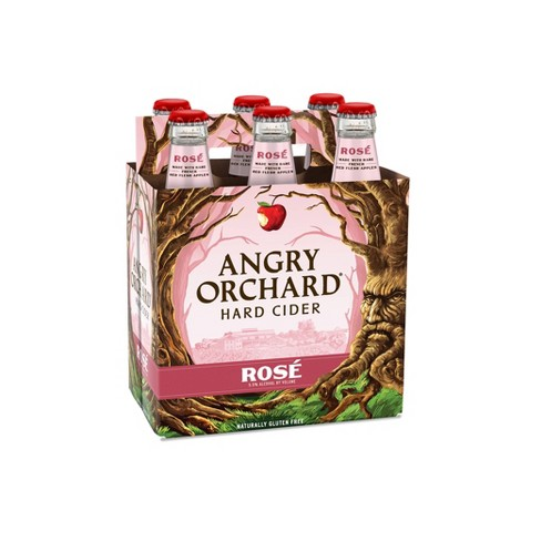 Angry Orchard Ros Hard Cider - 6pk/12 fl oz Bottles - image 1 of 3