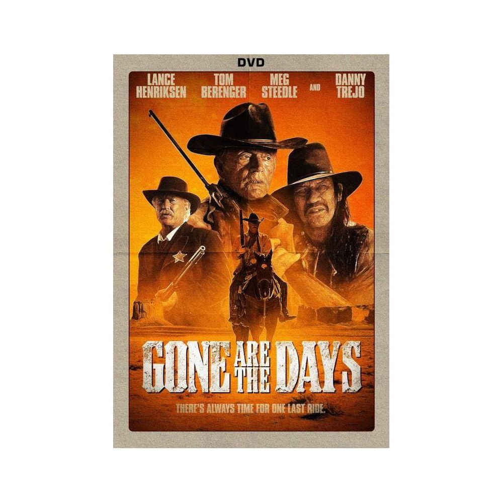 Gone Are The Days Dvd 2018