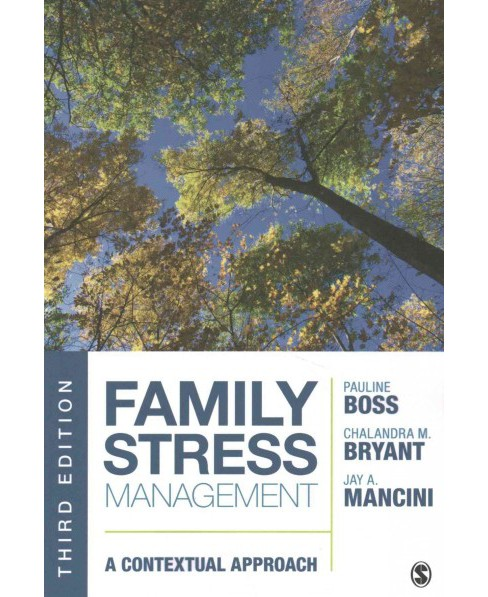 Family Stress Management : A Contextual Approach (Paperback) (Pauline Boss) - image 1 of 1