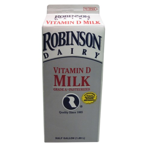 Robinson Dairy Whole Milk - 0.5gal - image 1 of 1