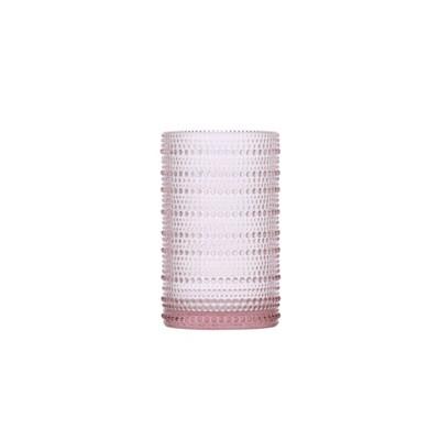 13oz 6pk Glass Jupiter Ice Beverage Glasses Pink - Fortessa Tableware Solutions