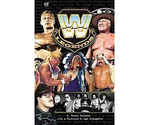 Wwe Legends (Paperback) (Brian Solomon) - image 1 of 1