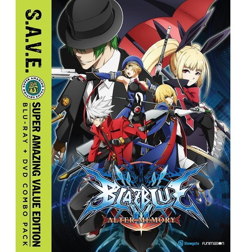 Blazblue:Alter Memory Complete Series (Blu-ray) - image 1 of 1