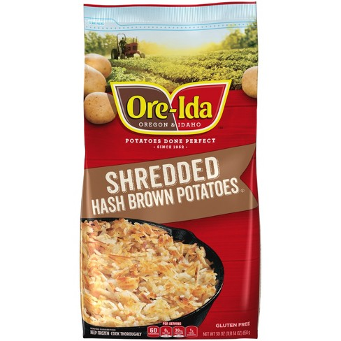 Ore-Ida Shredded Hash Frozen Brown Potatoes - 30oz - image 1 of 4