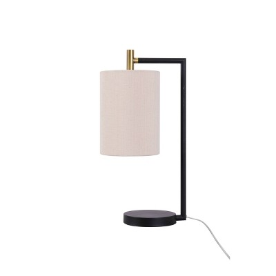 LED Fabric Lantern Table Lamp Cream (Includes Energy Efficient Light Bulb)- Project 62™