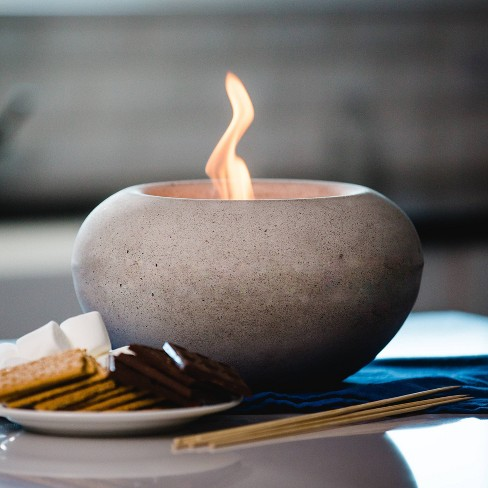 Stone Outdoor Table Top Fire Bowl - Gray - Terra Flame - image 1 of 4