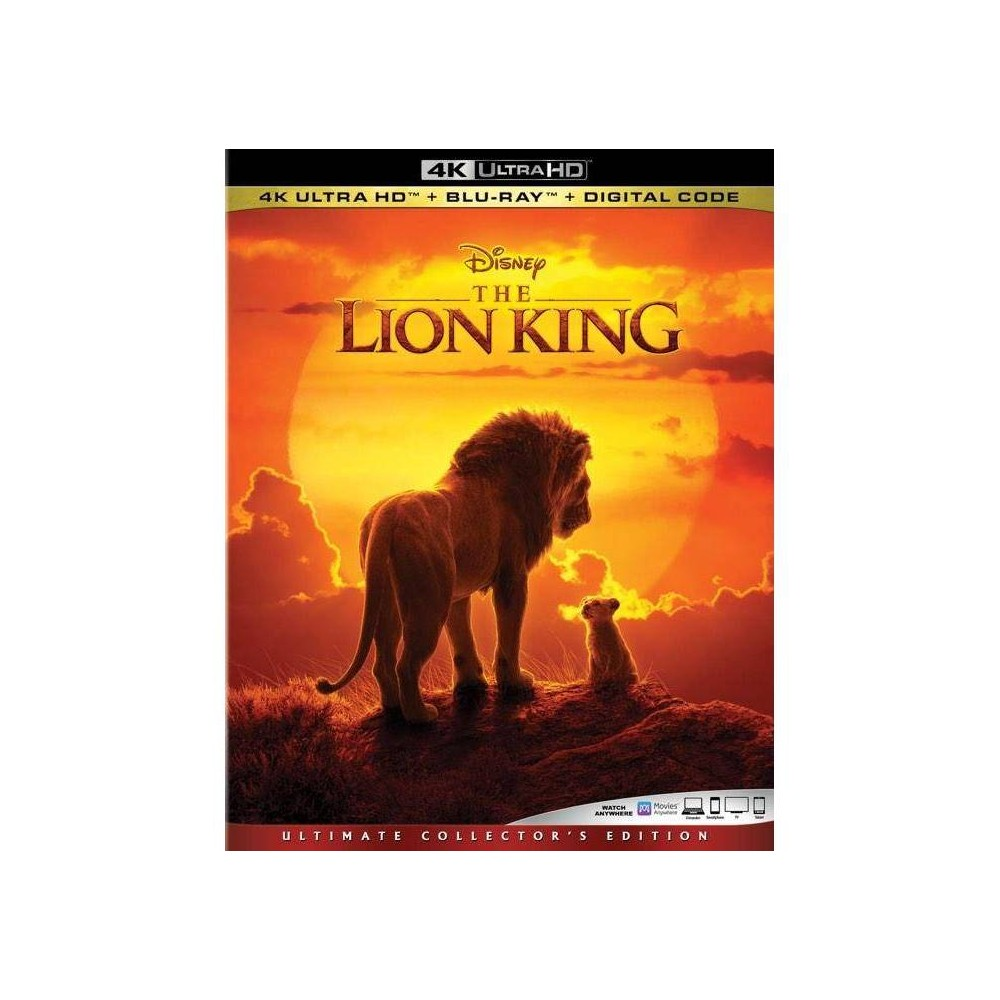 The Lion King (2019) (4K/UHD) was $29.99 now $20.0 (33.0% off)