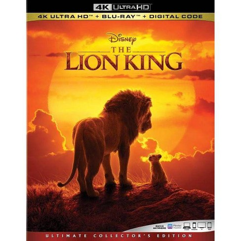 The Lion King (2019) (4K/UHD) - image 1 of 2