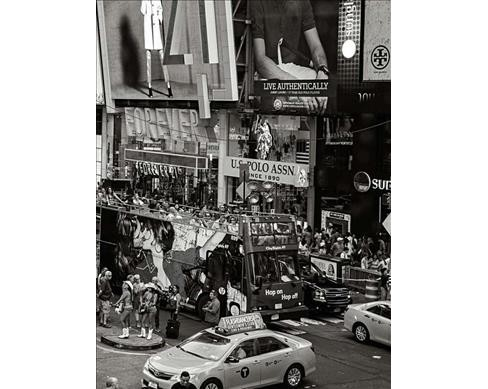 America's Stage : Times Square -  (Hardcover) - image 1 of 1