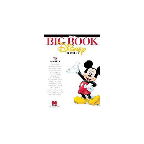 Big Book of Disney Songs : Viola (Paperback) : Target