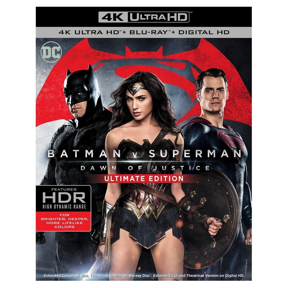 Batman V Superman: Dawn Of Justice (4K/Uhd)