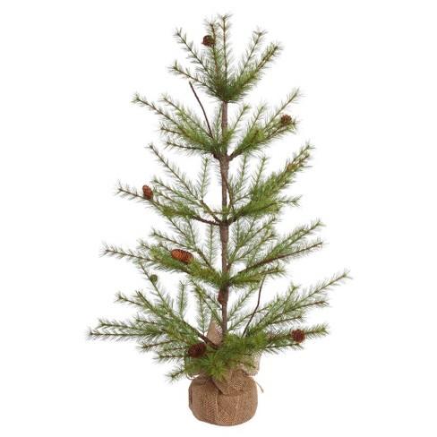 3ft unlit river pine artificial christmas tree with pine cones - Christmas Tree With Pine Cones