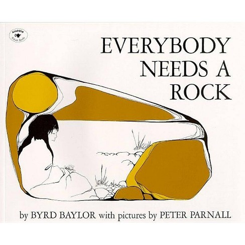 Everybody Needs a Rock - (For the Junior Rockhound) by  Byrd Baylor (Paperback) - image 1 of 1