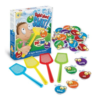 Learning Resources Sight Word Swat a Sight Word Game, Early Reading, 114 Pieces, Ages 5+