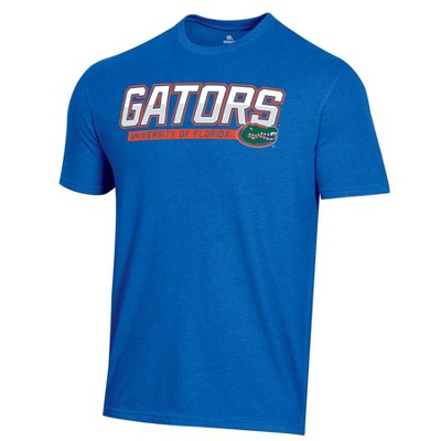 NCAA Florida Gators Men's Blue Short Sleeve T-Shirt