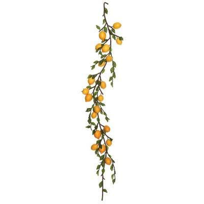 Artificial Lemon Garland (5') Yellow - Vickerman