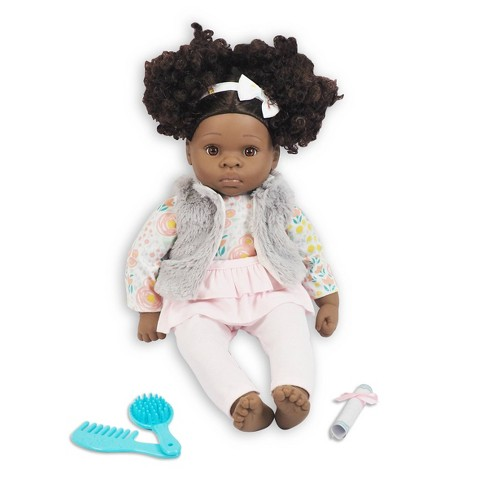 """Madame Alexander 18"""" Small Wonders Sweet & Happy Baby Beauty Time- Gray Vest - image 1 of 4"""