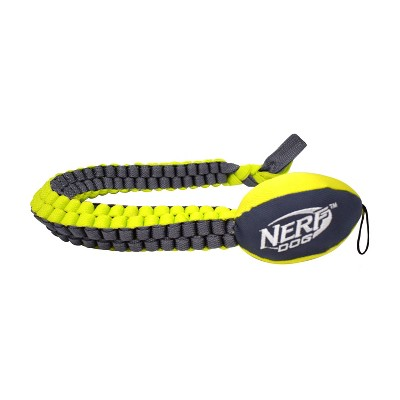 NERF Nerf Vortex Chain Tug Dog Toy - Gray - L