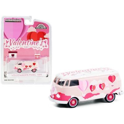 """Volkswagen Panel Van """"Valentine's Day 2021"""" """"Hobby Exclusive"""" 1/64 Diecast Model by Greenlight"""