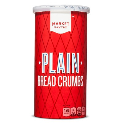 Plain Bread Crumbs 15oz - Market Pantry™