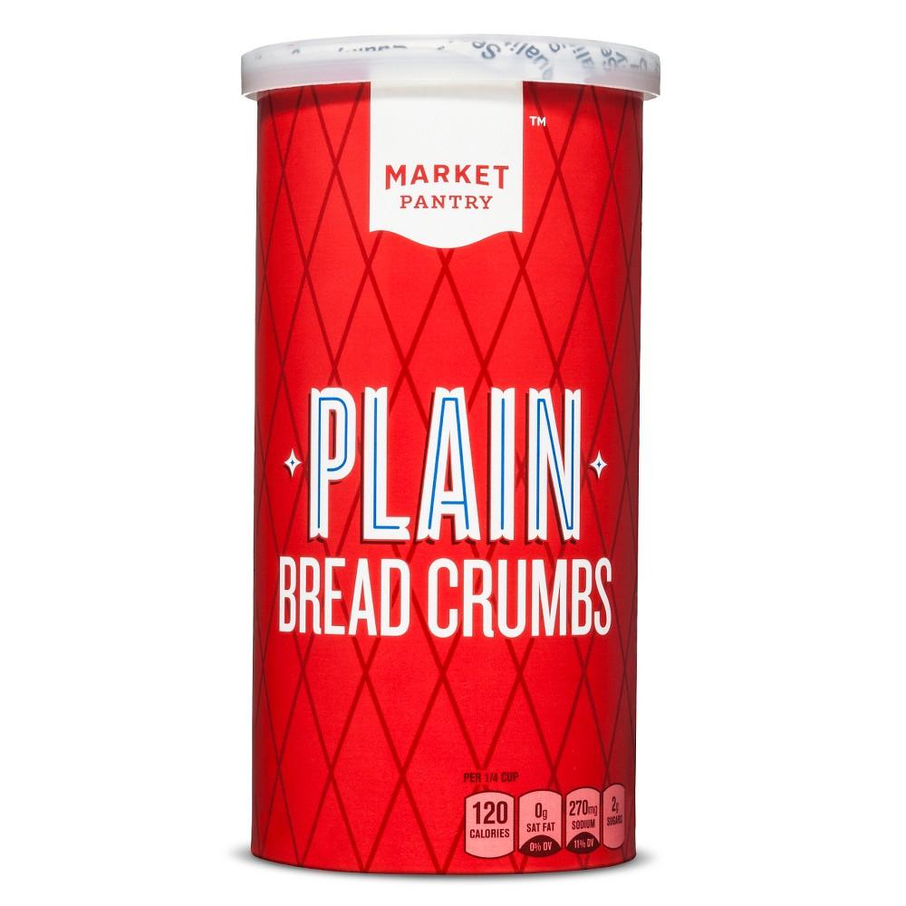 Plain Bread Crumbs 15oz - Market Pantry