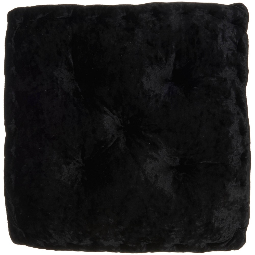 18 34 X18 34 Life Styles Square Booster Seat Cushion Black Mina Victory