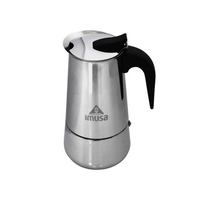 Imusa 6 Cup Stainless Steel Stovetop Coffeemaker