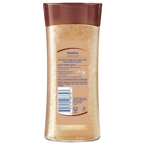 Vaseline Cocoa Radiant Body Gel Oil 6 8 oz