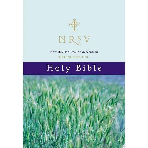 Catholic Bible-NRSV - (Hardcover)