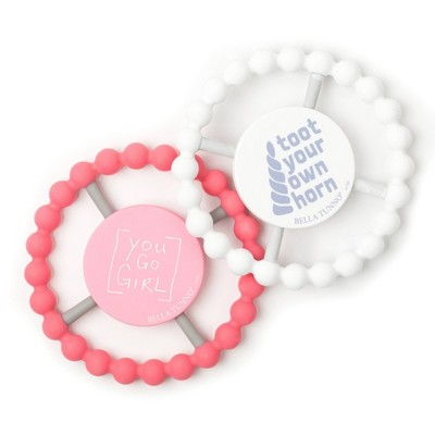 Bella Tunno Teether - Girl - 2pk