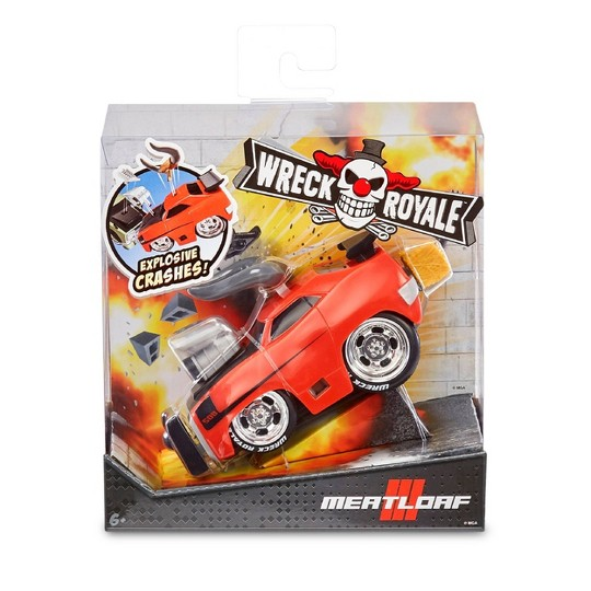 Wreck Royale Exploding Crashing Meatloaf Race Car image number null