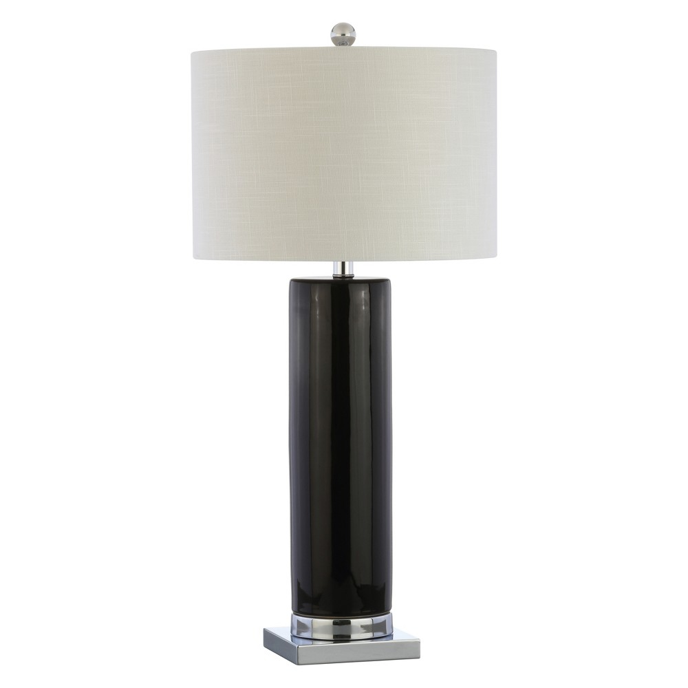 31.5 Dallas Ceramic Led Table Lamp Black - Jonathan Y
