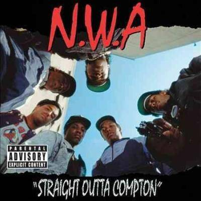 N.W.A. - Straight Outta Compton (Explicit) (EXPLICIT LYRICS) (CD)