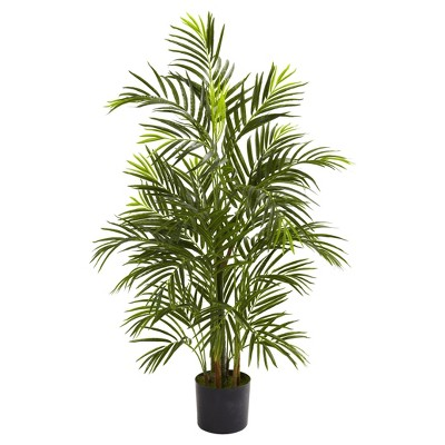 Artificial 3.5ft Areca Palm UV Resistant Indoor/Outdoor - Nearly Natural