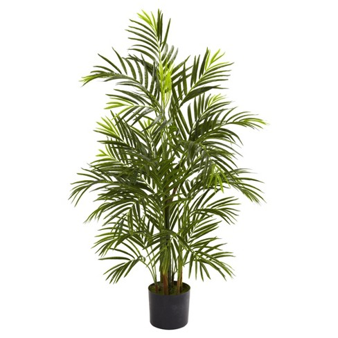 Artificial 3.5ft Areca Palm UV Resistant Indoor/Outdoor - Nearly Natural - image 1 of 3