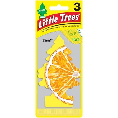 Little Trees 3pk Sliced Air Freshener