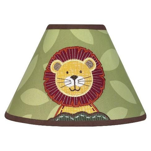 Sweet Jojo Designs Jungle Time Lamp Shade - image 1 of 2