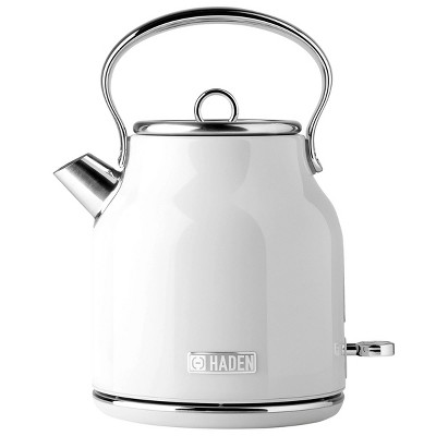 Haden Heritage Electric Kettle - Ivory White