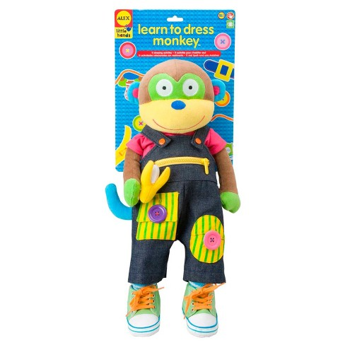 ALEX Toys Little Hands Learn To Dress Monkey - image 1 of 3