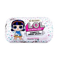 L.O.L. Surprise! Confetti Present Surprise Re-released Doll with 15 Surprises