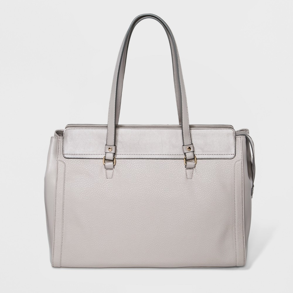 Memento Satchel - A New Day Drizzle Gray, Women's, Size: Large