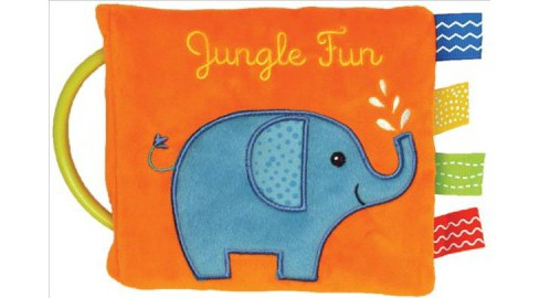 Jungle Fun -  (Flip Flap Activity Cloth Books) by Edu-petit (Hardcover) - image 1 of 1